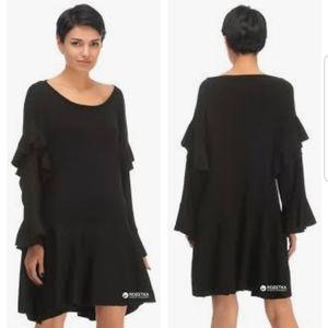 Zara | Black Sexy Knit Dress M-XL